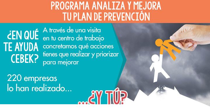 Programa analiza y mejra tu Plan de Prevención con Cebek