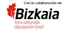 Con la colaboración de la Diputación Foral de Bizkaia