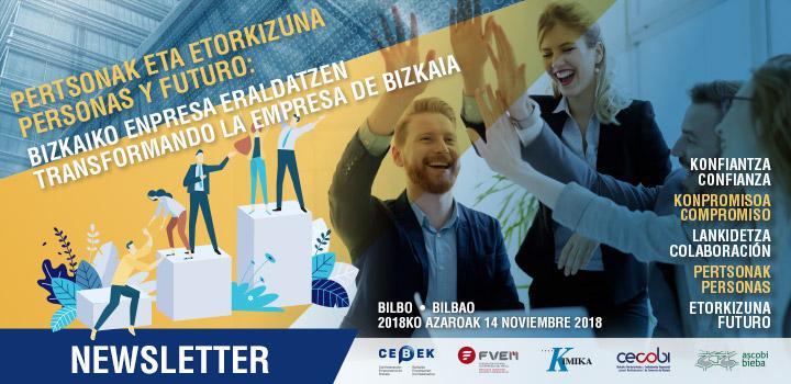 Personas y futuro: Transformando la empresa de Bizkaia - Newsletter