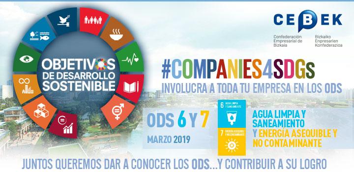 Companies4sdgs - Objetivos de desarrollo sostenible - Objetivos 6 y 7