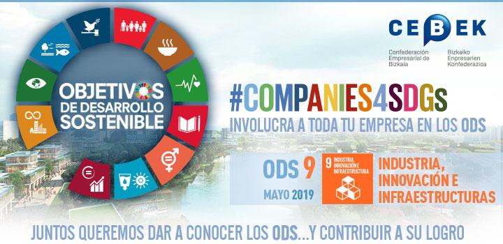 Companies4sdgs - Objetivos de desarrollo sostenible - Objetivo 9, Industria, innovación e infraestructuras