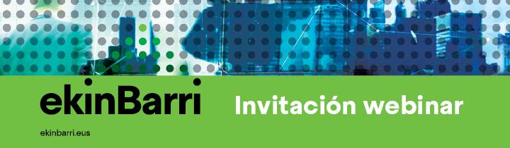 Invitación Webinar EkinBarri