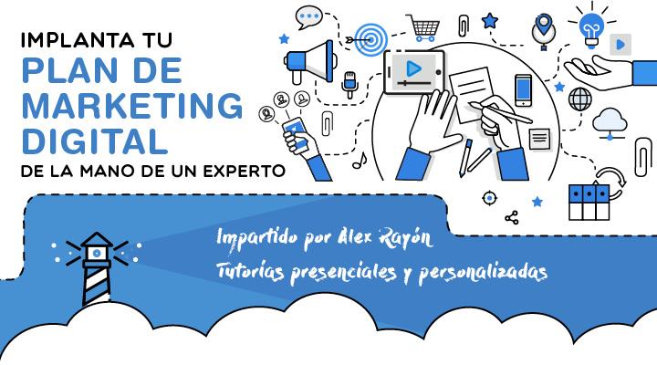 Implanta tu plan de Marketing Digital de la mano de un experto