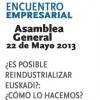CEBEK celebrará su Asamblea General el 22 de mayo en el Palacio Euskalduna