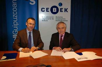 Acuerdo CEBEK-Banco SabadellGuipuzcoano para el impulso de la internacionalización