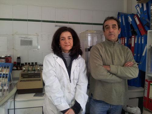 Javier y Mª Elena Zuloaga